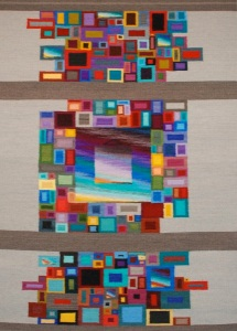 Fractured squares 5x7