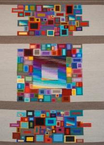 Fractured squares 5x7