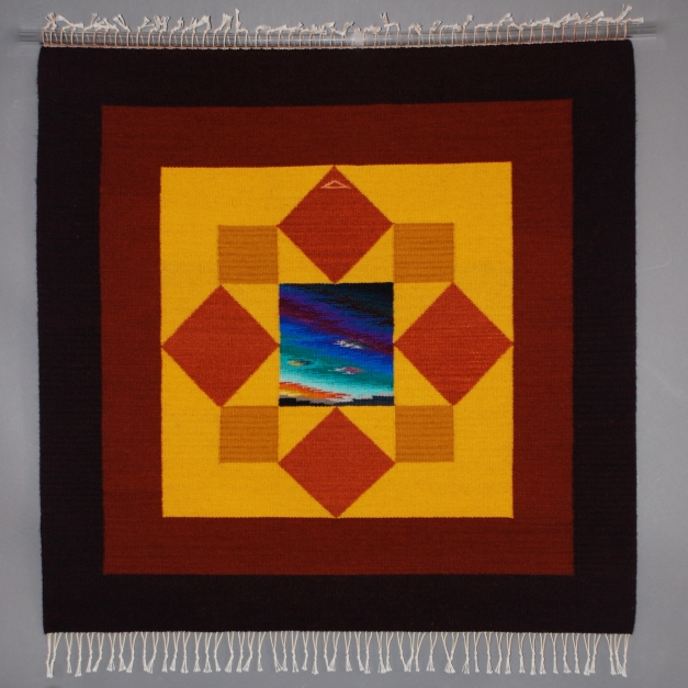 6x6 squares &triangles Mandala39.5x40$3,200